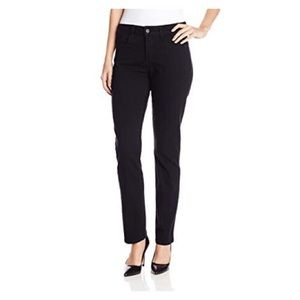 NYDJ Sheri Slim Leg Jeans in Black